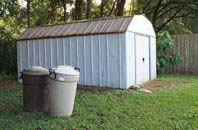 Hampton Hill garden storage shed installation